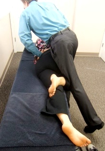Lumbar or Pelvic Table Adjustment