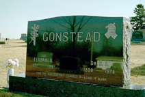 Dr. Gonstead's grave site